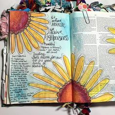 So thankful for two years of illustrating my faith through bible journaling. I remember when I got my first journaling bible two years ago, I was so excited! Now quickly filling up my third bible, I still have that same excitement as I grab my bible, paints and devotional for some time each day. Journaling has deepened my walk with the Lord, opened up ways for me to talk to people about Jesus, and gets me intentionally into the Word everyday. :) I'm going though /jenniesallen/ Chase study…