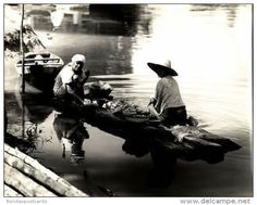 Brazil, MANAOS, River Life (1943) Large 9.4 X 7.8 Inch Real Photo (1) - Cartes Postales