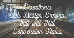 There are many non-designers using platforms to create their own sites. For beginners, we find that a lot of design errors are made. But fear not! This article will help you understand what errors will cause you to lose conversion rate.