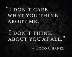 32 Amazing, True And Inspiring Quotes. I Donu0027t CareCoco ...