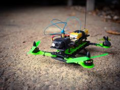 Hovership MHQ - Foldable Micro H-Quadcopter by Hovership - Thingiverse