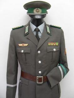 NVA Grenztruppen Stabsoberfähnrich 'Hauptfeldwebel' / Dienstuniform