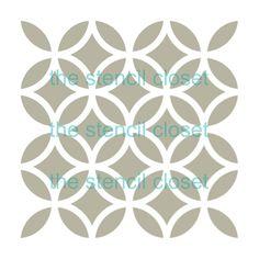 plantilla de enrejado de 12 x 12 grande por TheStencilCloset