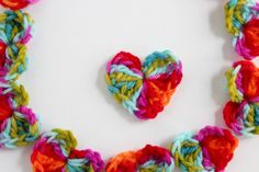 Crochet Hearts for Loved Ones - Make and Takes