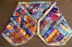 """The next """"hidden Mary"""" quilt was in the form of a prayer shawl"""