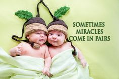 Sometimes Miracles come in pairs http://baby.tips/sometimes-miracles-come-in-pairs