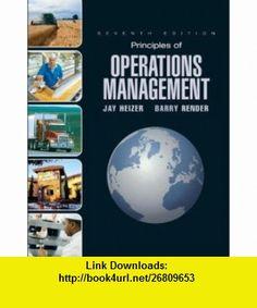 Principles of Operations Management and Student CD  DVD  Value Package (includes POM-QM for Windows v. 3) (9780135037393) Jay Heizer, Barry Render , ISBN-10: 0135037395  , ISBN-13: 978-0135037393 ,  , tutorials , pdf , ebook , torrent , downloads , rapidshare , filesonic , hotfile , megaupload , fileserve