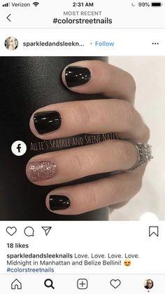 Get Nails, Fancy Nails, Love Nails, Fabulous Nails, Gorgeous Nails, Pretty Nails, Nail Color Combos, Nail Colors, Sinful Colors