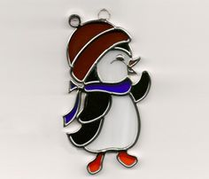 penguin stained glass - Google Search