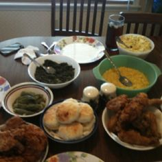Southern home cooking