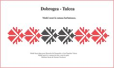 Dobrogea, model de camasa barbateasca Folk Embroidery, Diy And Crafts, Cross Stitch, Sewing, Tips, Blog, Needlepoint, Punto De Cruz, Needlework