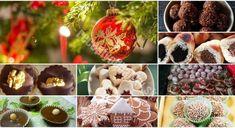 Už nepotrebujete hľadať nič iné: 15 najlepších VIANOČNÝCH RECEPTOV na obľúbené zákusky!! - Recepty od babky Christmas Bulbs, Stuffed Mushrooms, Muffin, Food And Drink, December, Vegetables, Holiday Decor, Cooking, Breakfast