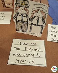 Make a Thanksgiving Diorama after reading The Very First Thanksgiving Day.