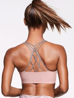 Lightweight by Victoria Sport Strappy Sport Bra Activewear | Women's Yoga & Gym Clothes | FitnessApparelExpress.com ♡ Women's Workout Clothes | Yoga Tops | Sports Bra | Yoga Pants | Motivation is here! | Fitness Apparel | Express Workout Clothes for Women