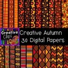 This set features 30 different digital papers with crisp, black line patterns. This set is a collection of my other digital paper patterns, but use...