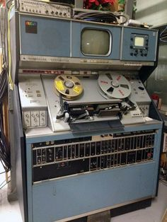RCA TR-70C 2-inch Quadruplex Video Tape Recorder (VTR).