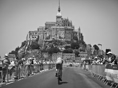 TDF 2013 stage 11. Mont St Michel