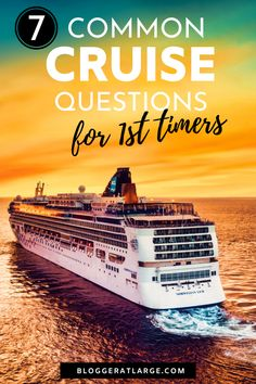If you're thinking about going on a cruise, this post covers all the questions you're probably asking: Will I get bored? Will I get seasick? Which ship should I choose?... #cruise #cruisetips #traveltips #travel