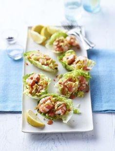 1000 images about buffet canapes on pinterest good for Prawn cocktail canape