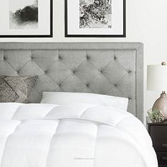 When you are looking for the perfect headboard, the BROOKSIDE Upholstered Headboard with Diamond Tufting brings a timeless style to your bedroom decor. The linen-like fabric wraps beautifully with buttonless tufting. Adding a sense of height and dimension to your room, this modern take on a... more details available at https://furniture.bestselleroutlets.com/bedroom-furniture/beds-frames-bases/headboards-footboards/headboards/product-review-for-brookside-upholstered-headboard