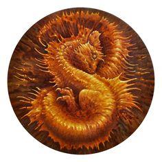 Dragon by Tomasz Alen Kopera Fire Dragon, Dragon Art, Art Visionnaire, Magic Forest, Shape Art, Visionary Art, The Villain, Surreal Art, Love Art