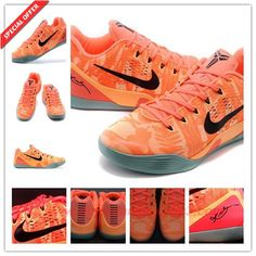 361a4b2d1aaa Peach Cream Bright Mango-Cannon-Medium Mint 646701-880 Nike Kobe 9 Elite  Low Mens
