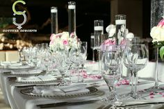 The #CoutureConceptsExperience through tabletops.