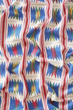 Embroidered Baja Throw Blanket - Urban Outfitters