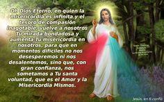 Estampitas de Jesus con oraciones a la Divina Misericordia