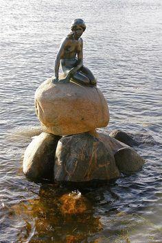 The Little Mermaid - Copenhagen. -Been here...Love Copenhagen...Great People