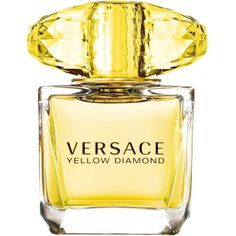 Versace Yellow Diamond Eau De Toilette 50Ml ($78) ❤ liked on Polyvore featuring beauty products, fragrance, perfume, makeup, beauty, parfum, accessories, filler, yellow diamond and blossom perfume