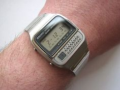 Vintage 1979 NOS █ SEIKO C-359 LCD Digital Calculator watch