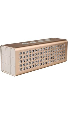 Bluetooth Wireless Speakers BAVISION 20W Compact & Rechargeable Portable Sound System User-Friendly & Compatible with All Devices - Handy Builtin Microphone - 15 Hours of Non-Stop Audio Golden Best Price