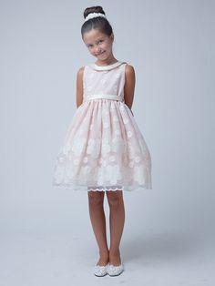 b8229d83ff85 Next stop: Pinterest Morgan Dress, Girls Easter Dresses, Embroidered Flowers,  Bridal Boutique