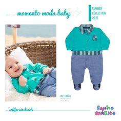 Moda Bebê   Moda Baby   Macacão   Para o Príncipe