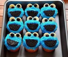 cookie monster cupcakes.love this website.