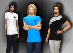 VSConcepts  designed this  t-shirts  but  needed someone  that  turns into CC for  Sims4, so  I did it, I hope you like! =)  I did...