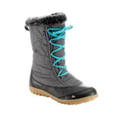 7d93c8226f2 Schneestiefel Winterwandern SH500 X-Warm wasserdicht Damen