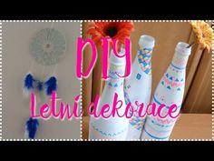 DIY - Letní dekorace do pokoje ☼ - YouTube Red Bull, Energy Drinks, Canning, Diy, Youtube, Decor, Decoration, Bricolage, Do It Yourself