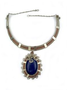 """Wire Wrapped Necklace """"Elva"""""""
