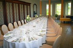 Ballroom at Wedderburn Castle, great for gatherings of friends and families.