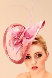 great pink hat!