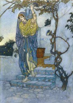 Edmund Dulac - The Rubáiyát
