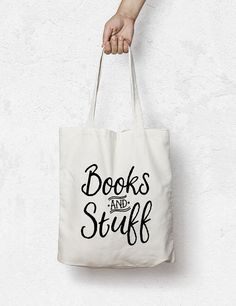 Book bag Custom Tote bag  grocery bag library Bag by MiniMoiPrints