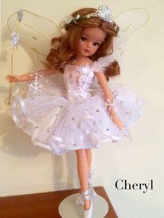 Sindy winter fairy Pretty Dolls, Beautiful Dolls, Vintage Barbie, Vintage Dolls, Tammy Doll, Winter Fairy, Sindy Doll, Childhood Toys, Ballerinas