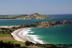 Dunedin New Zealand | Karitane;Otago;coast;beach;beaches;water;wave;waves;ocean;sea;rural ...