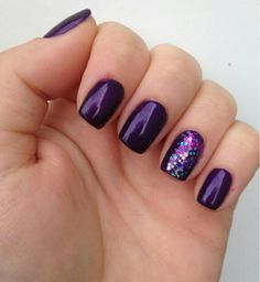 Red Carpet Manicure, New York, New York. The first at-home LED Gel Manicure system 💅 Available. Purple Nail Designs, Gel Nail Designs, Nails Design, Purple Gel Nails, Purple Glitter, Blue Nail, Purple Wedding Nails, Glitter Gel, Cadbury Purple Wedding