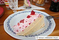Gyümölcsös joghurttorta alexandrától Vanilla Cake, Cheesecake, Food, Cakes, Cake Makers, Cheesecakes, Essen, Kuchen, Cake