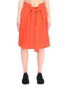 DAMIR DOMA RAYON AND LINEN SKIRT. #damirdoma #cloth #