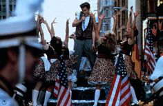 The city of Chicago shaking it up with Ferris Bueller on his day off.